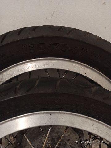 Rodas Viper com pneus - Foto 4