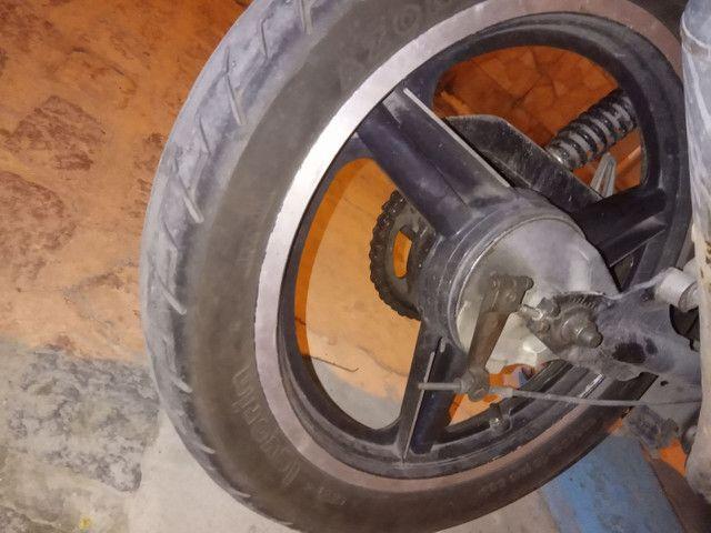 Roda três paletas freio a disco Titan 150 ou 160