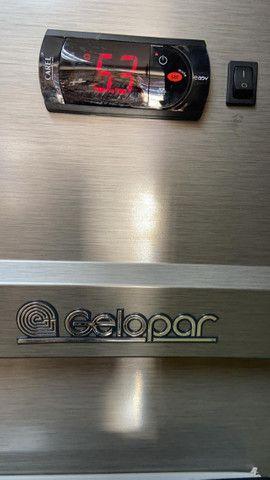 Refrigerador gelopar vertical 2.39m 4 portas inox gvp4 220v - Foto 3