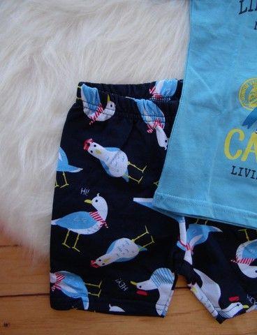 Conjunto Infantil Marisol Play Menino Camiseta Bermuda - Foto 4