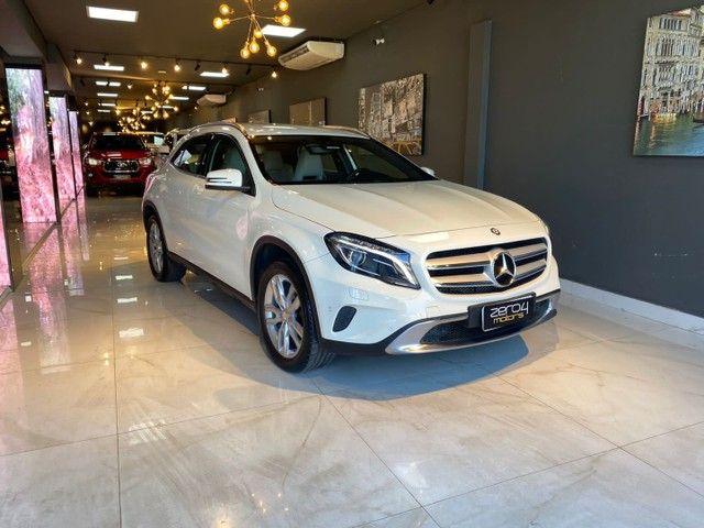 Mercedes-Benz GLA 200 1.6 Advance 2016/2016 Bancos interior bege ,Configuração Linda