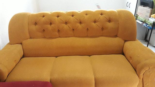 Sofa semi novo, usado apenas com capa!