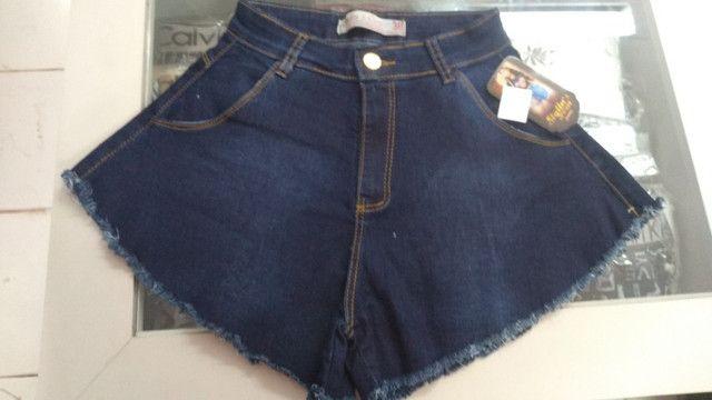 Short godê jeans (promoção) - Foto 3