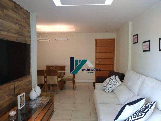 Apartamento montado, próximo ao largo do marrão, com lazer completo, 3 qts 1 suíte 1 vaga - Foto 3
