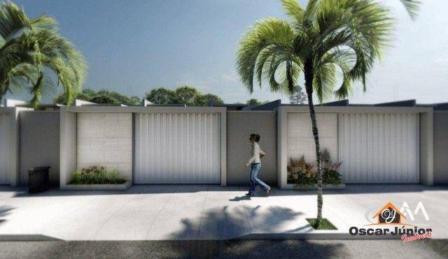 Casa com 3 dormitórios à venda, 110 m² por R$ 315.000,00 - Timbu - Eusébio/CE - Foto 2