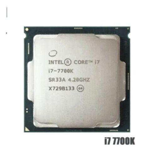 I7 7700k 4.2ghz.  4.5ghz(Max turbo)