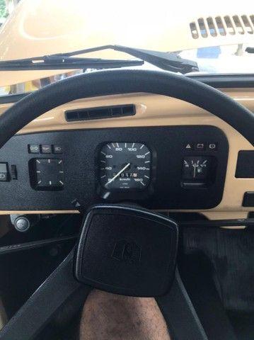 VW Volkswagen Fusca 1600 Álcool 1984 Placa Mercosul Preta Colecionador - Foto 2