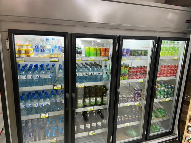 Refrigerador gelopar vertical 2.39m 4 portas inox gvp4 220v - Foto 2