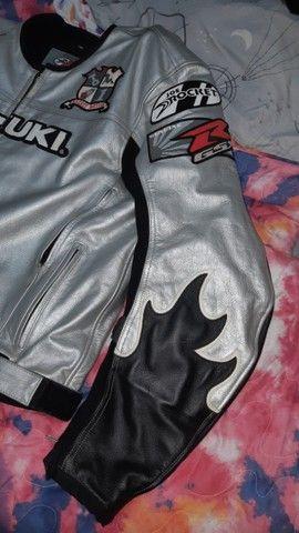 Jaqueta couro moto Joe Rocket - Foto 5