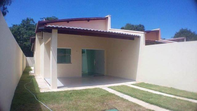 Casas planas no Eusébio, 3 quartos 2 Suites 4 vagas - Foto 5