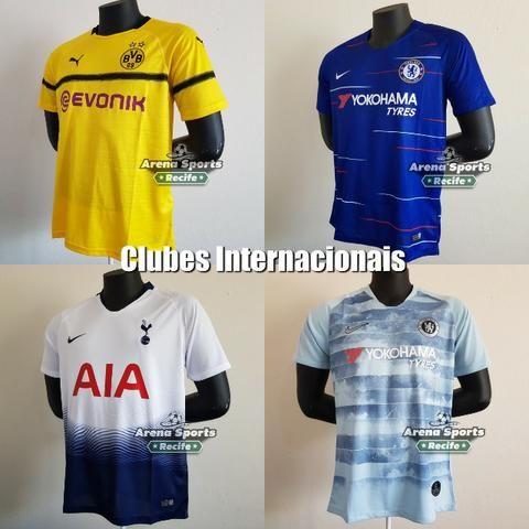 1bcc7413db Camisas Futebol - Seleções e Clubes - Grande variedade