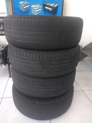 Jogo de 4 pneus originais Bridgestone Potenza 185/55/16