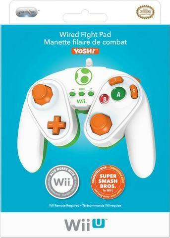 Controle de Game Cube do Yoshi para Nintendo Wii-U
