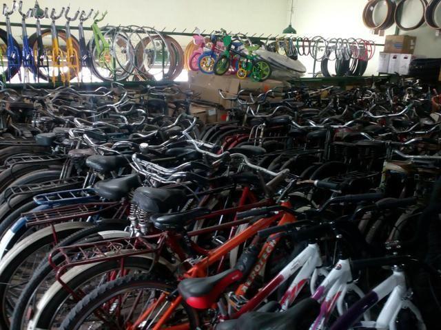 Bicicletas Antigas e Peças usadas - Foto 2