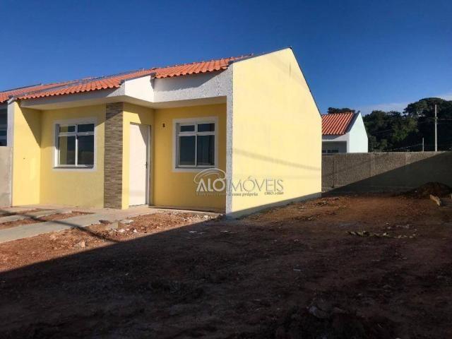 Casa com 2 dormitórios à venda, 42 m² por r$ 130.000 - estados - fazenda rio grande/pr - Foto 11