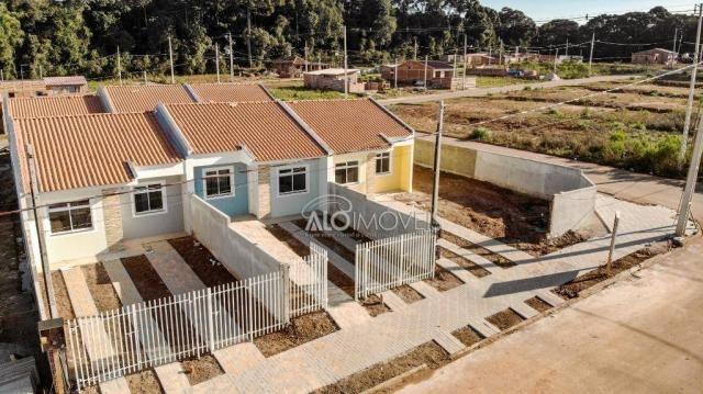 Casa com 2 dormitórios à venda, 42 m² por r$ 130.000 - estados - fazenda rio grande/pr - Foto 4