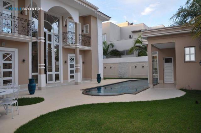 Sobrado no Condomínio Alphaville 1 com 5 dormitórios à venda, 692 m² por R$ 5.500.000 - Lo