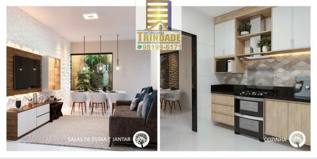 T- Casa Em Condomínio Na Cohama_Próximo Ao Zeus _ 2 e 3 Quartos _ fino Acabamentos - Foto 2