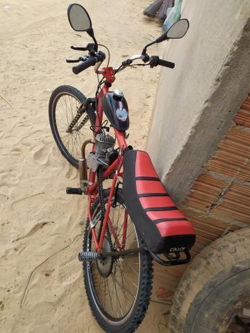 Bicicleta Motorizada 80 cc - Foto 5