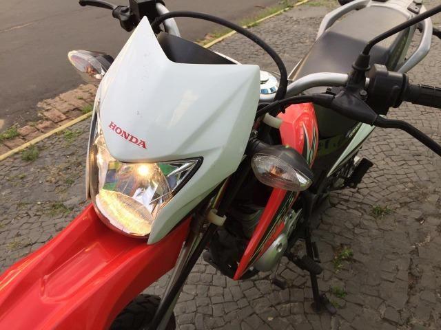 Honda/ Nxr 150 Bros Esd conservada - Foto 4