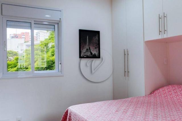 Apartamento com 3 dormitórios para alugar, 90 m² por r$ 2.800/mês - jardim bela vista - sa - Foto 12