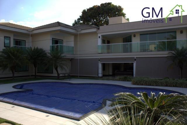 Casa a venda / setor de mansões / 4 suítes / piscina / churrasqueira / varanda / sobradinh - Foto 5