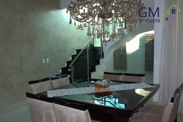 Casa a venda / setor de mansões / 4 suítes / piscina / churrasqueira / varanda / sobradinh - Foto 14