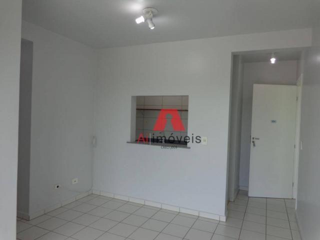 Apartamento com 2 dormitórios para alugar no via parque, 49 m² por r$ 937/mês - floresta s - Foto 3