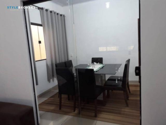 Casa com 3 dormitórios à venda, 204 m² por R$ 299.000,00 - Parque das Nações - Várzea Gran - Foto 3