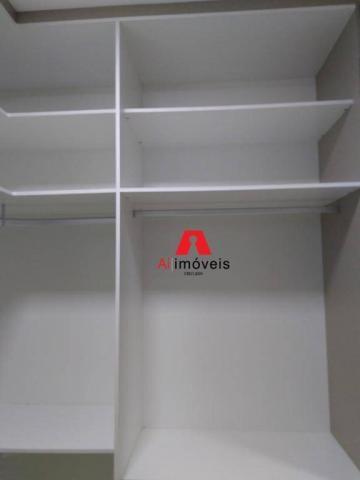 Apartamento com 2 dormitórios e 1 suíte com closet, para alugar, 110 m² por r$ 2.600/mês - - Foto 16