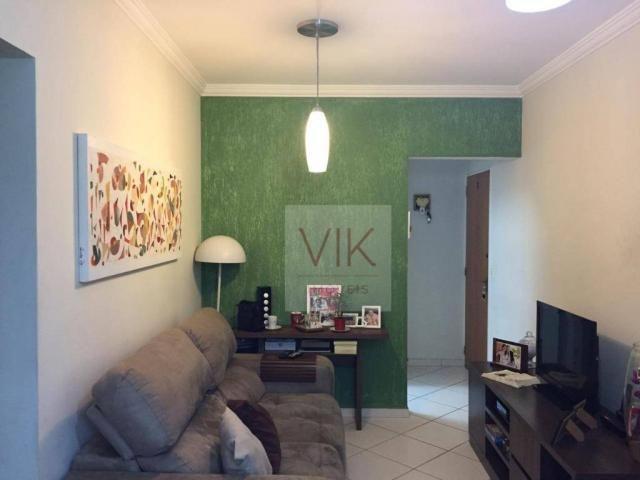 Apartamento com 3 dormitórios à venda, 65 m² por r$ 259.990,00 - jardim pacaembu - valinho - Foto 2