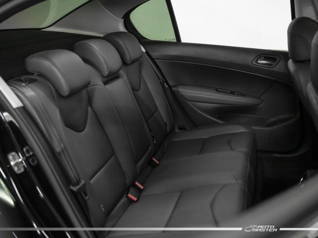 Peugeot 408 Sedan Griffe 1.6 TB Flex 16V 4p Aut. - Preto - 2019 - Foto 13