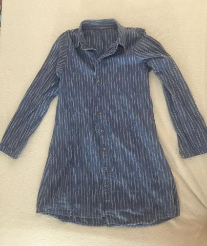 Vestido Estilo Camisa Social
