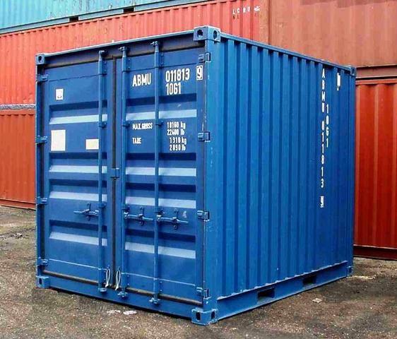 Container marítimo almoxarifado 03 metros 10 pés marítimo usado (baby)