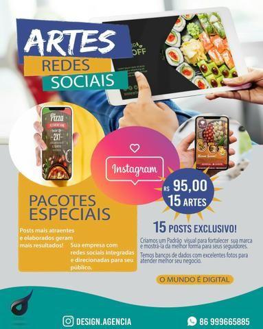 15 Artes Pacote para Redes Sociais.