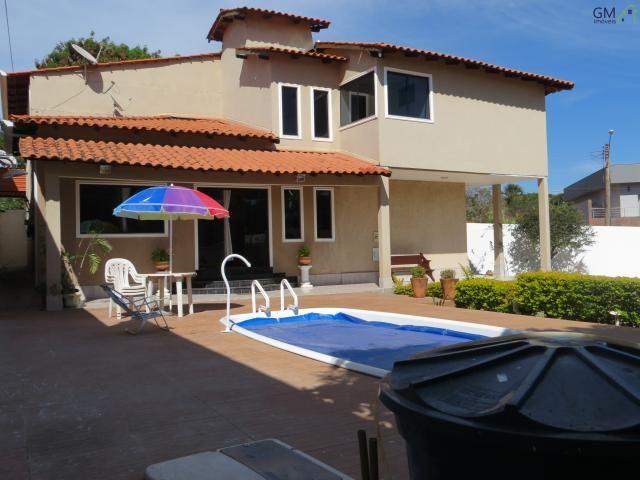 Casa a venda / condomínio rk / 04 quartos / churrasqueira / piscina / academia / quintal