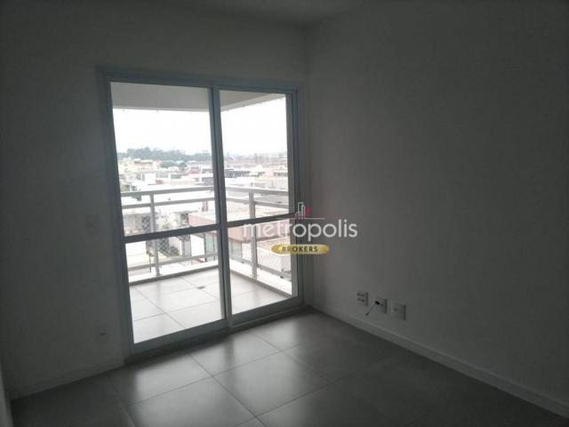 Apartamento com 2 dormitórios para alugar, 69 m² por r$ 2.500/mês - cerâmica - são caetano - Foto 4