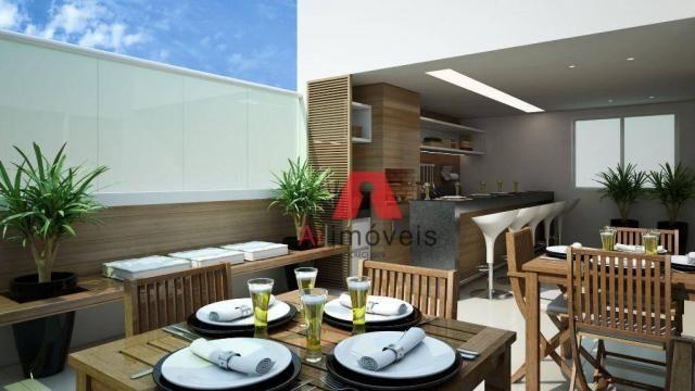 Apartamento com 3 dormitórios à venda, 104 m² por r$ 530.000 - baixa da colina - rio branc - Foto 5