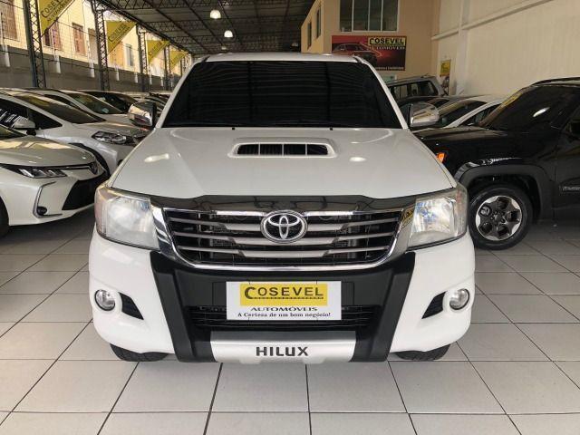 Hilux SRV 4x4 2014/2014, diesel, automática, toda revisada, conservada