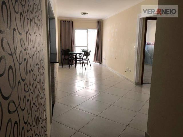 Apartamento com 2 dormitórios para alugar, 99 m² por R$ 3.100,00/mês - Canto do Forte - Pr - Foto 13
