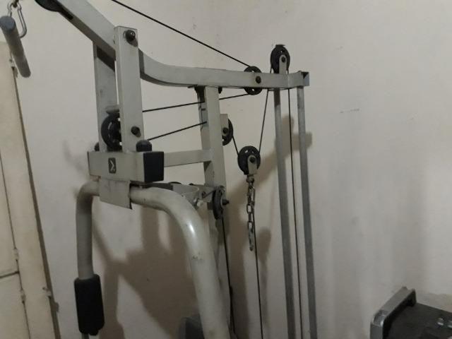 Estação de musculação Oxer 4300s semi nova - Foto 4