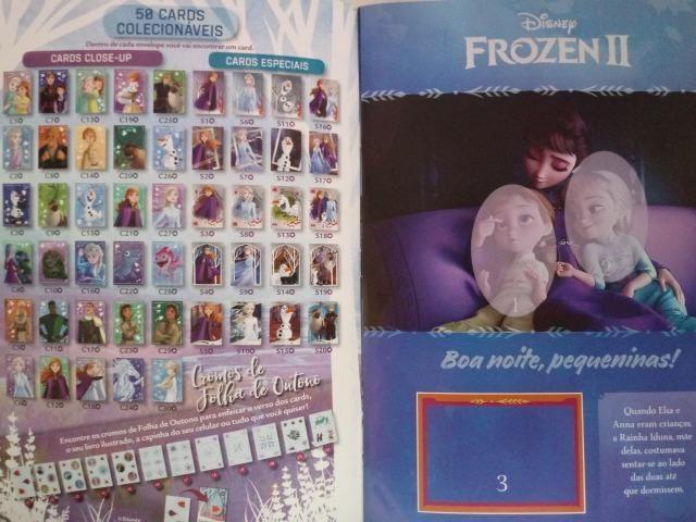 Frozen 2 Album de Figurinhas R$ 9,90 - Foto 2