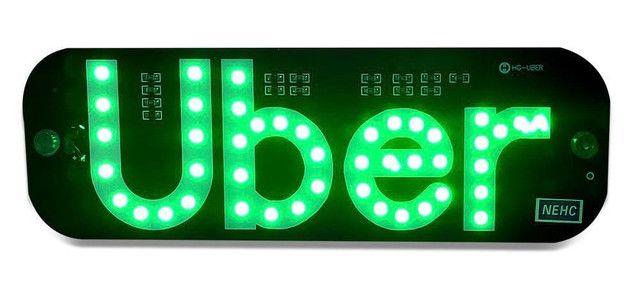 Placa luminosa Led Uber - Foto 2