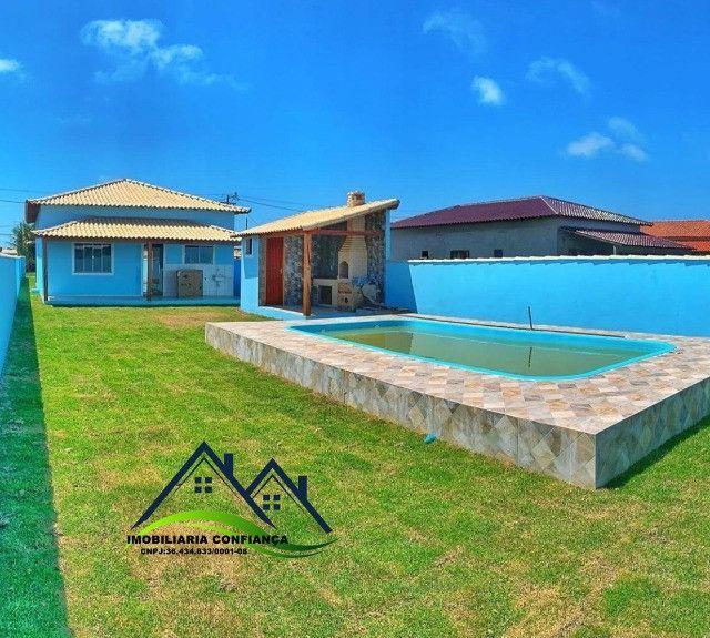 01- Linda Casa em Condomínio, 2 Quartos com piscina / Região dos Lagos - Foto 13