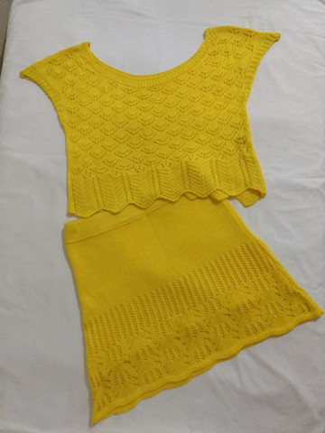 Conjunto de tricô - Foto 2