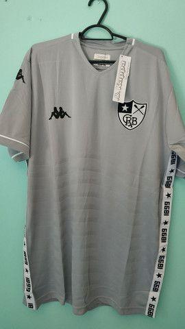 Camisa do Botafogo Cinza de Goleiro 2020