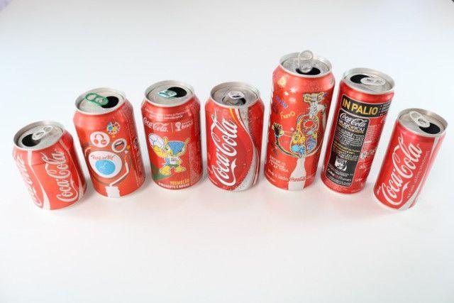 Latas de Coca-cola para colecionador - Foto 3