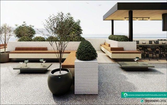 Lançamento no Centro de Porto com 2 Quartos + 50m²   Flats em Porto de Galinhas - Foto 2