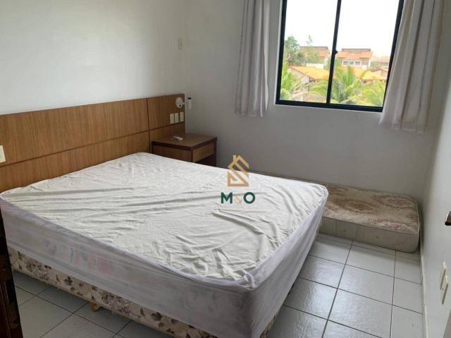 Apartamento com 1 dormitório para alugar, 52 m² por R$ 1.300/mês - Porto das Dunas - Aquir - Foto 14