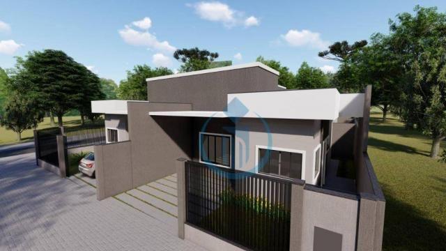 Casa com 2 dormitório à venda, 64 m² por R$ 225.000 - Sao Caetano - Foz do Iguaçu/PR - Foto 8